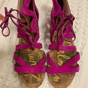 Sam Edelman Gladiator Sandals Size 6
